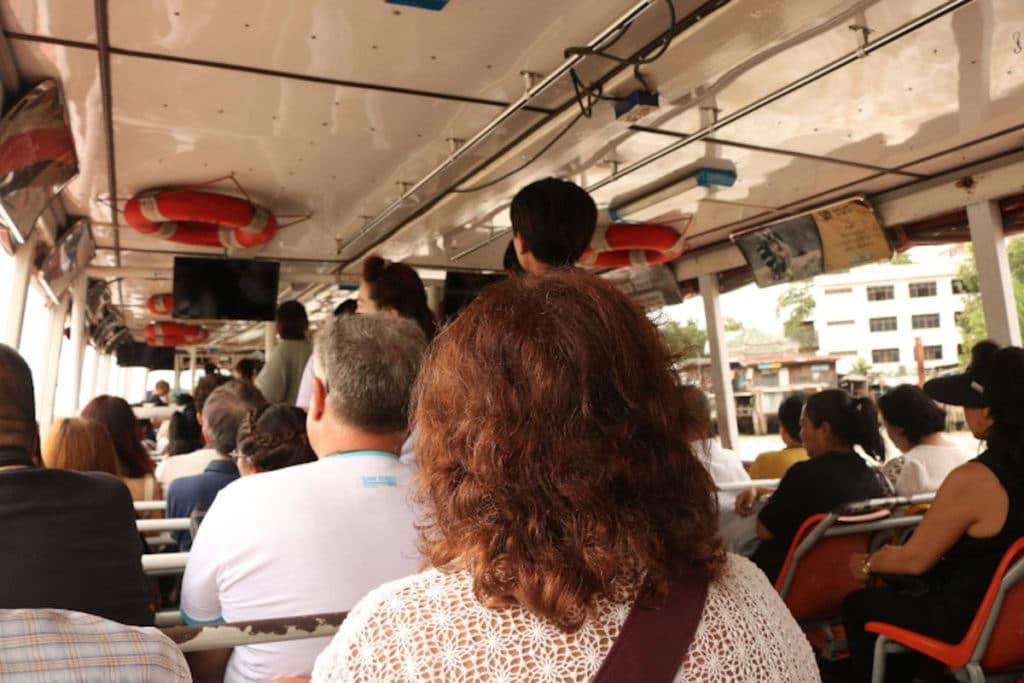 Bote en Bangkok