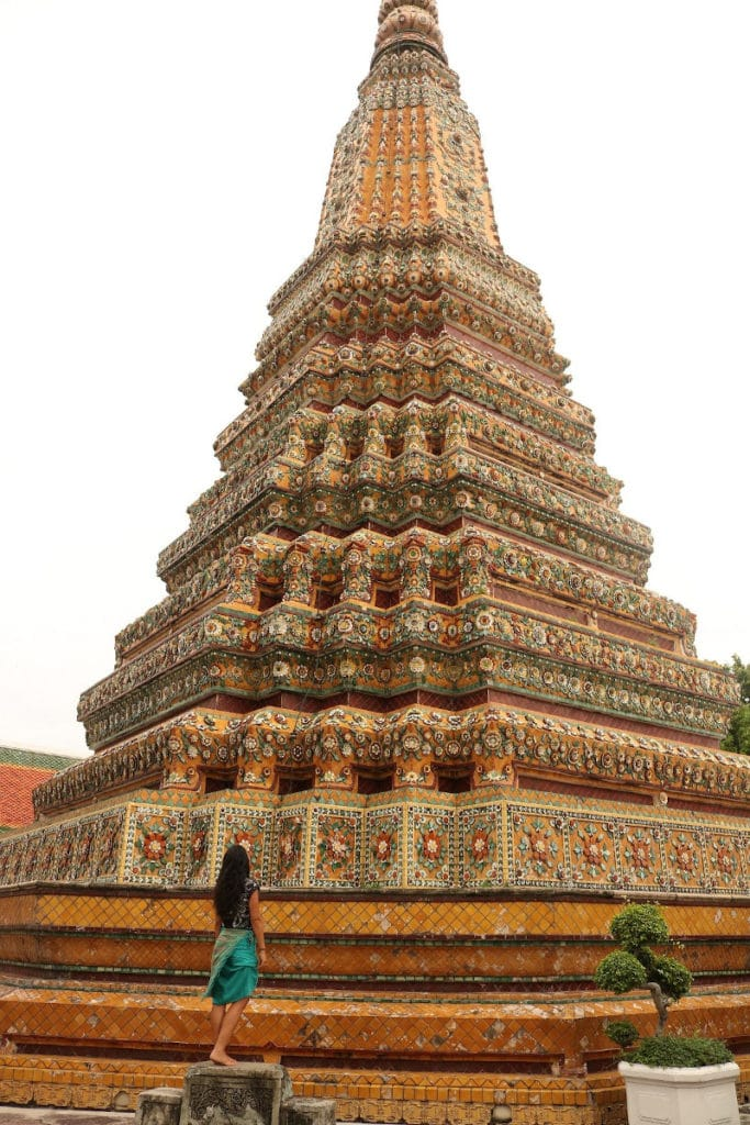 Gran estupa templo Wat Pho