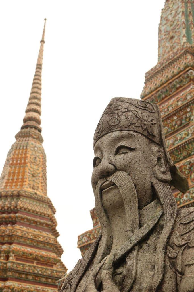 Guardianes estupas Wat Pho