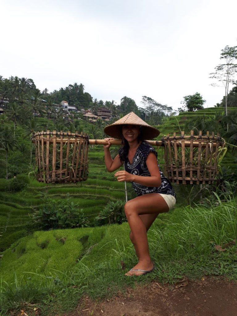 Terrazas de arrroz de Tegalalang Ubud