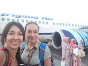 Avión Borneo Indonesia