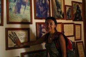 Museo de Orangutanes en Borneo