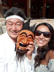 Show de máscaras Hahoe