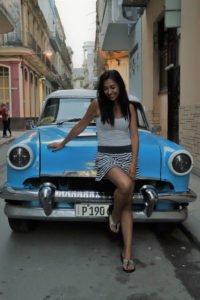 Carro antiguo - Almendrón. La Habana Cuba
