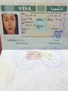 Visa de Marruecos